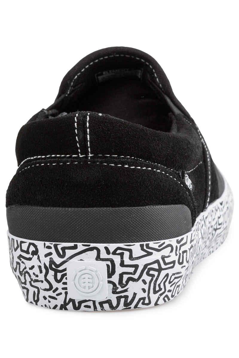 Element KH Spike Slip Shoes (black white)
