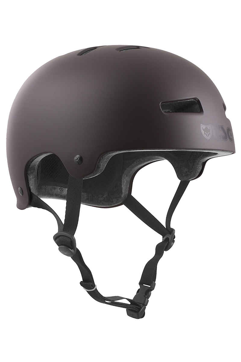 TSG Evolution-Solid-Colors Helmet (satin black chocolate)