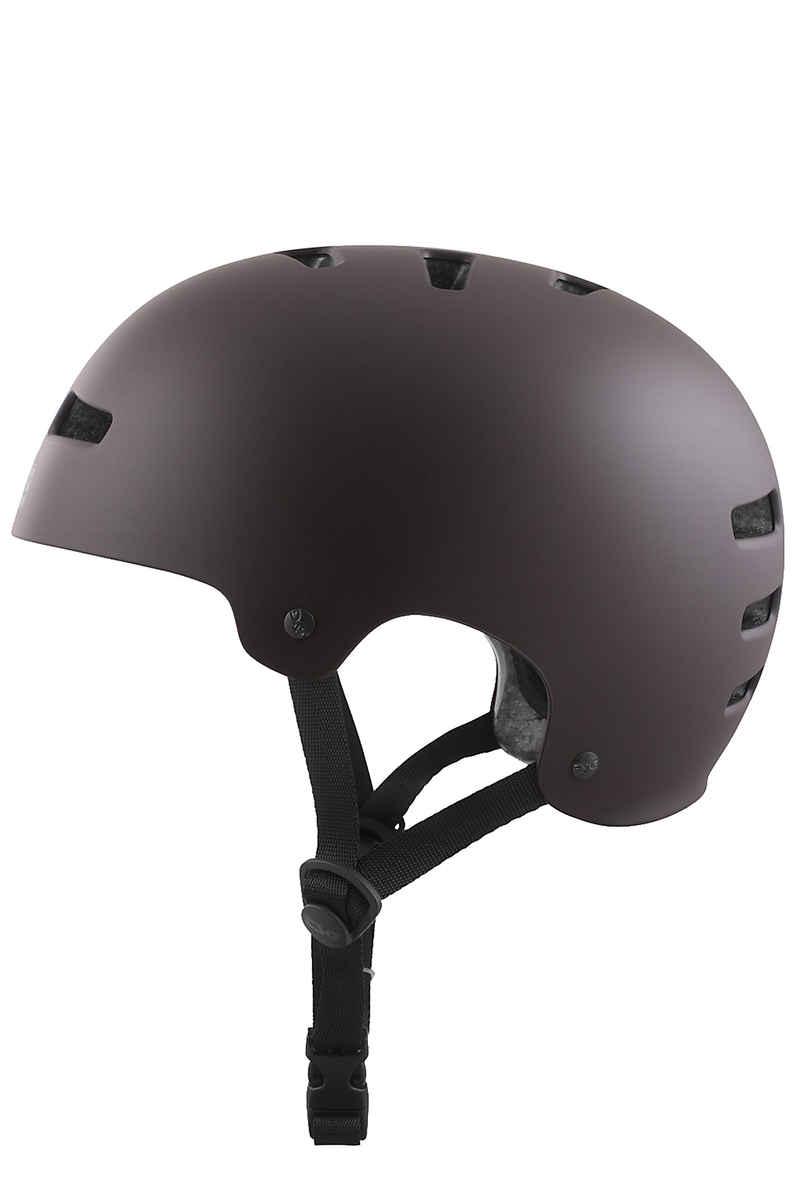 TSG Evolution-Solid-Colors Helm (satin black chocolate)