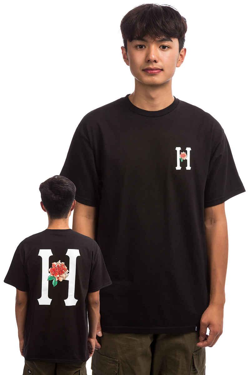 HUF Bara Flower Classic H T-Shirt (black)