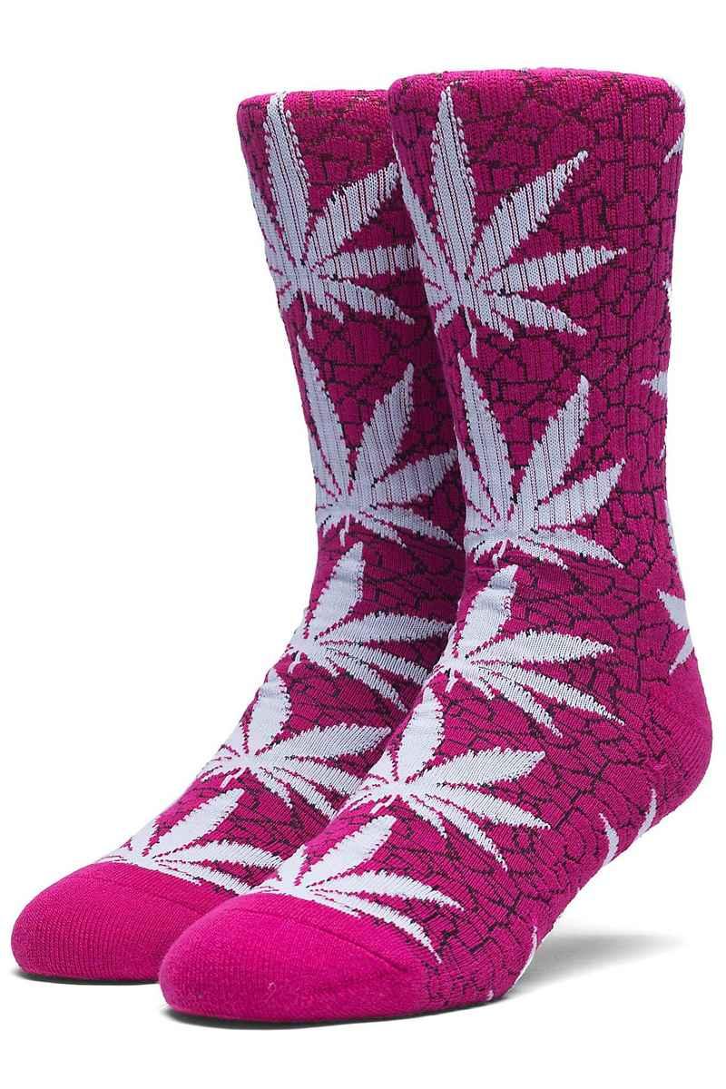 HUF Quake Plantlife Socks US 8-12 (pink)