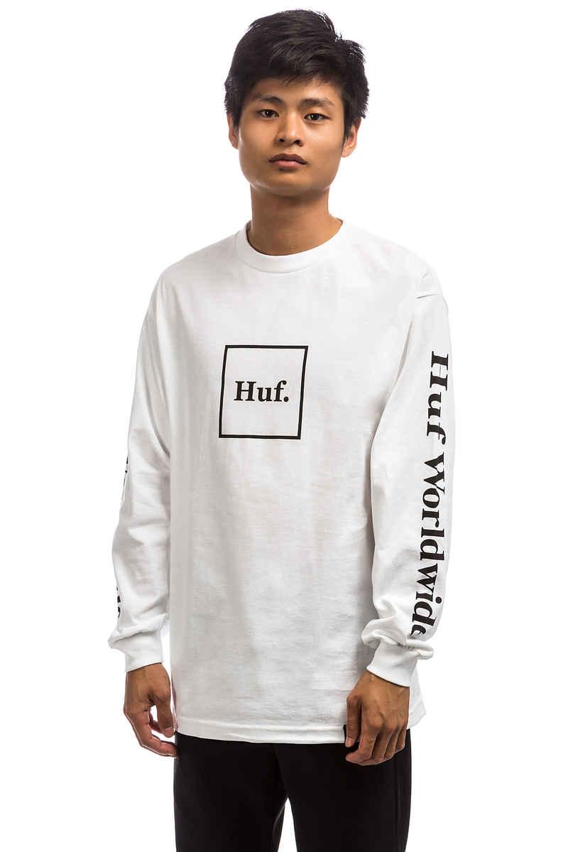 HUF Domestic Longsleeve (white)