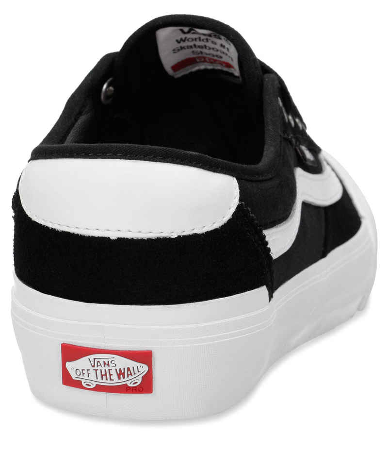 Vans Chima Pro 2 Schuh (suede canvas black white)