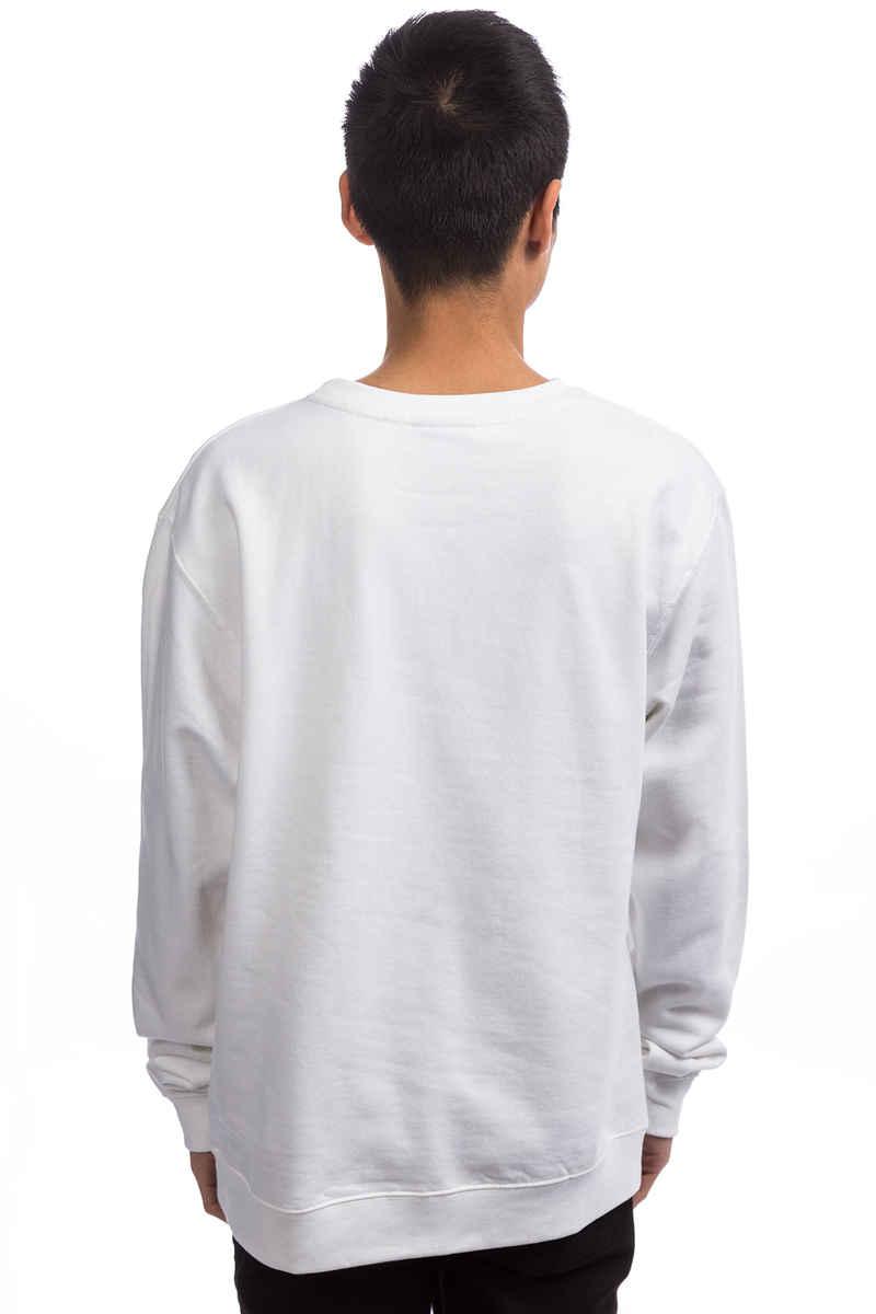 Diamond Flamingo Box Logo Sweatshirt (white)
