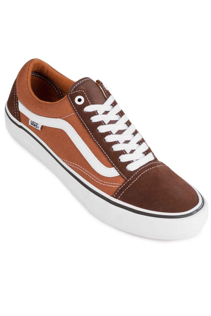 Vans Old Skool Pro Chaussure (potting soil leather brown)
