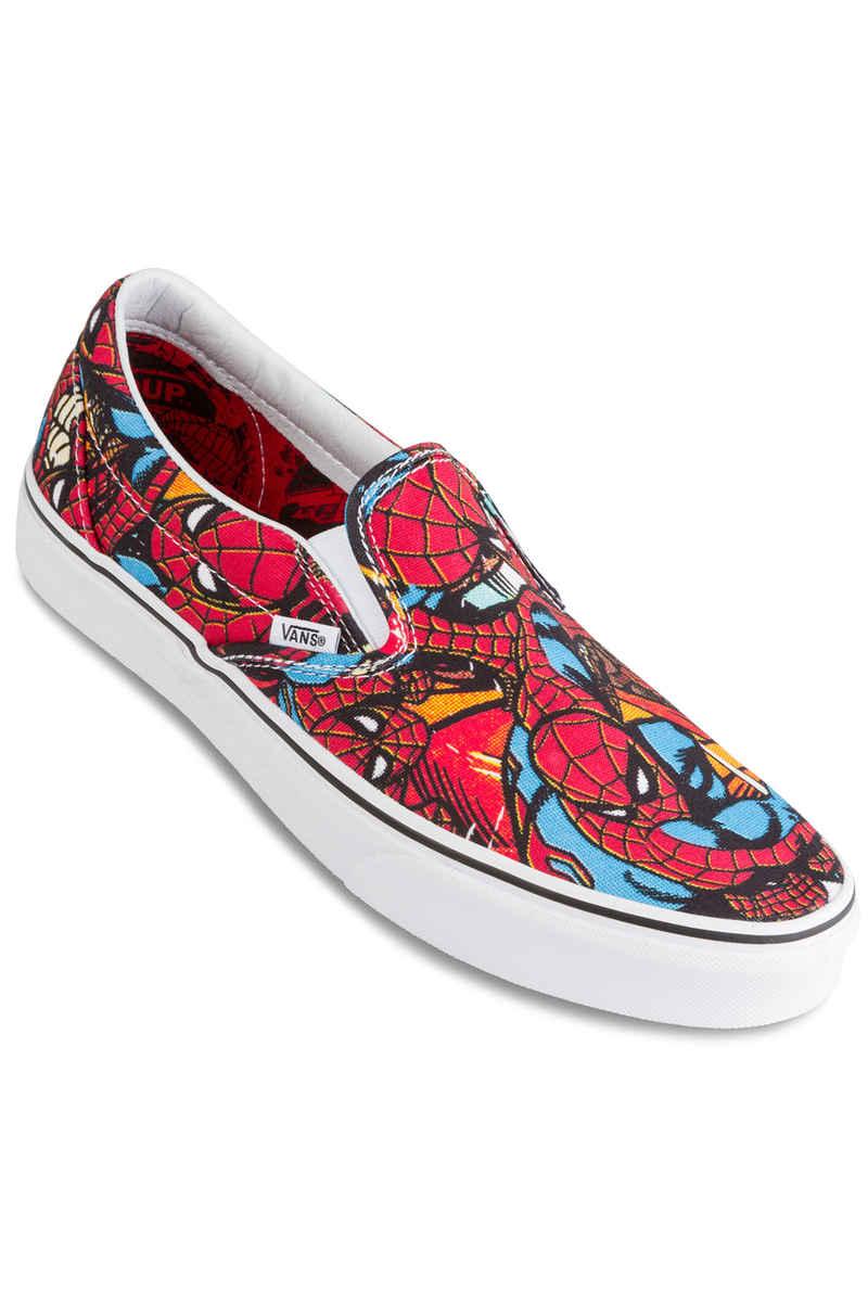 Vans x Marvel Classic Slip-On Chaussure (spiderman black)