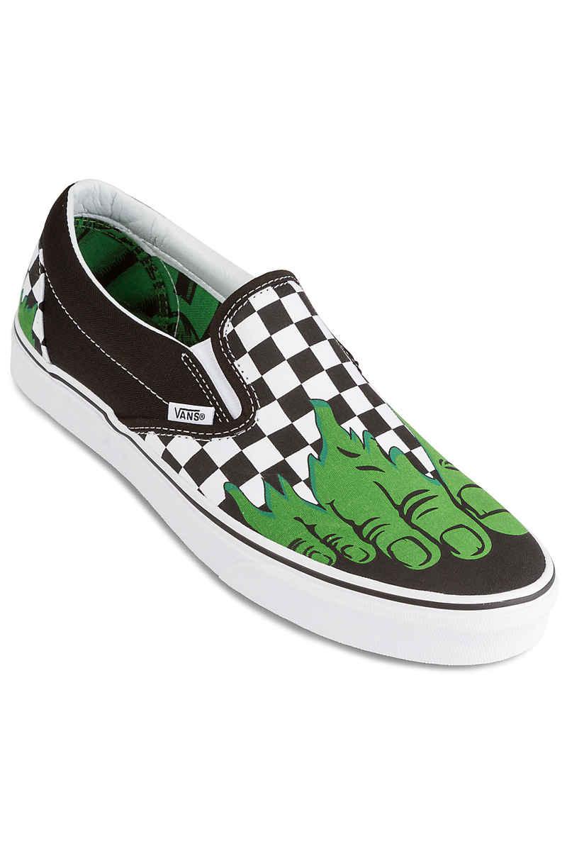 Vans x Marvel Classic Slip-On Chaussure (hulk checkerboard)