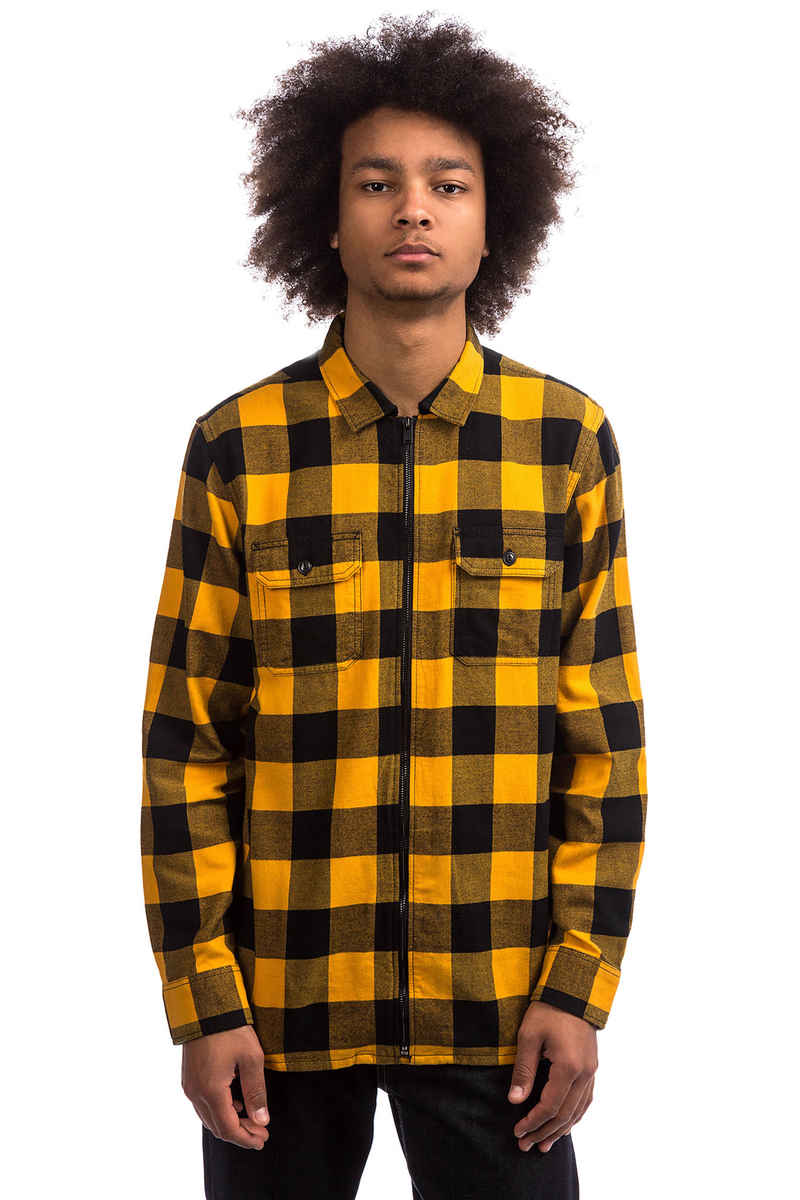 Vans x Independent Zip Flannel Shirt (sunflower)