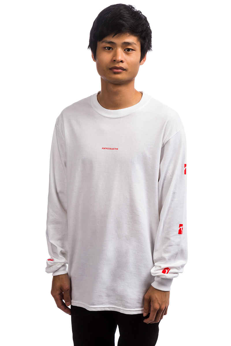 Poetic Collective Classic Longsleeve (white)