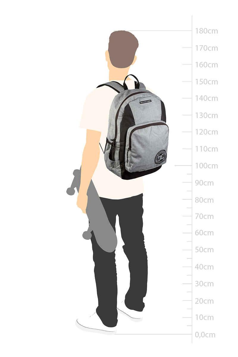DC The Locker Backpack 23L (grey heather)