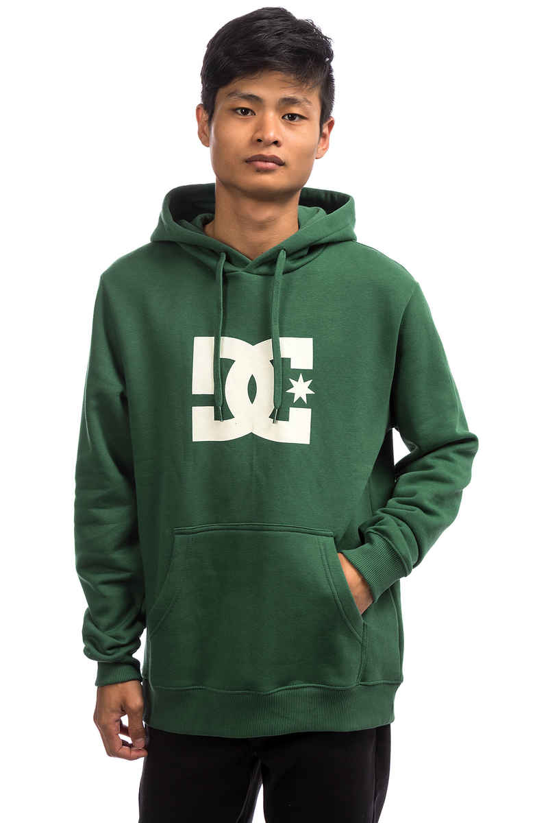 DC Star Hoodie (hunter green)