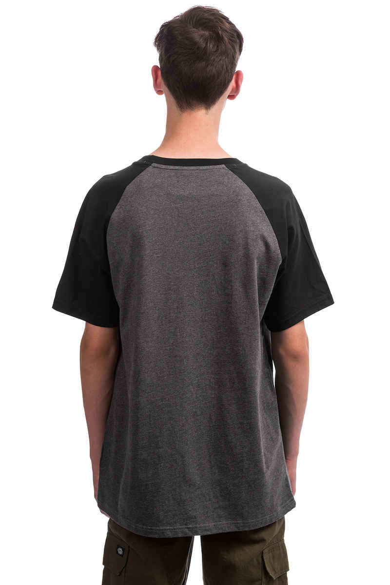 DC Star Raglan T-Shirt (black charcoal heather)