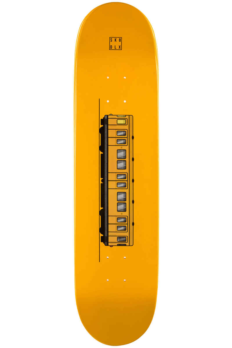 "SK8DLX Train Series 8"" Deck (yellow)"