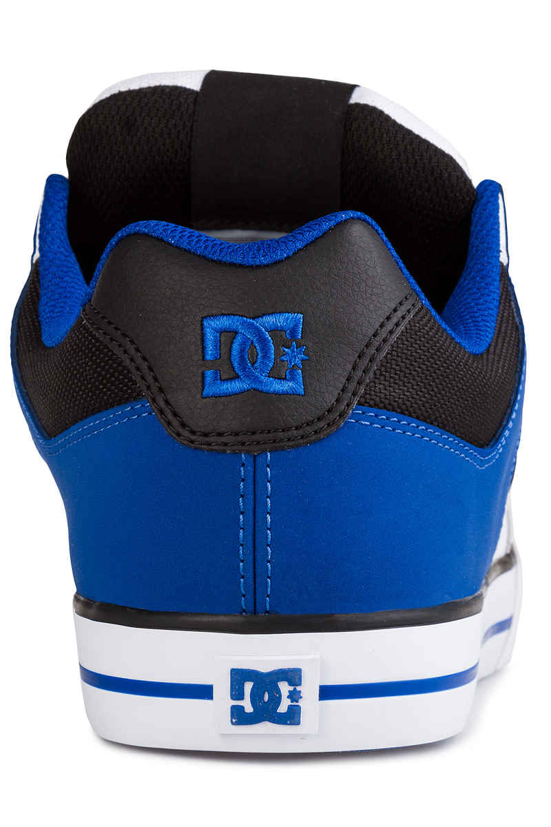 DC Pure Shoes (white black blue)