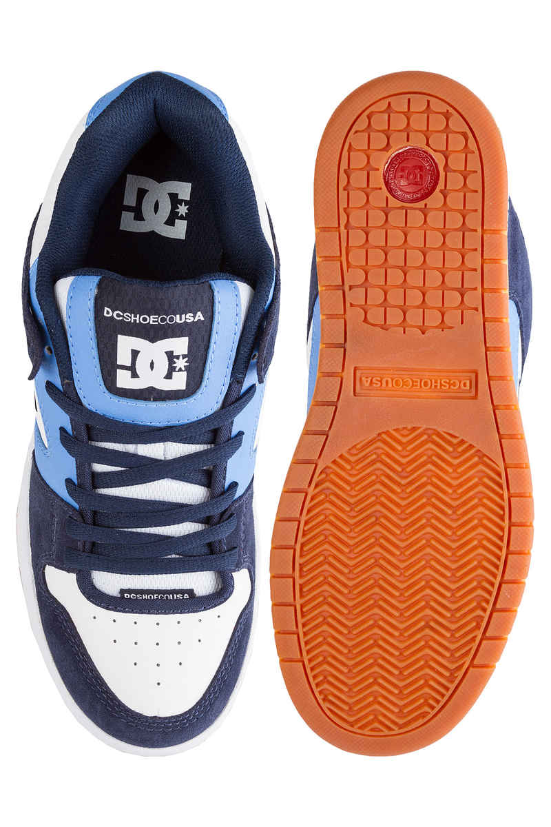 DC Manteca Schoen (navy blue white)