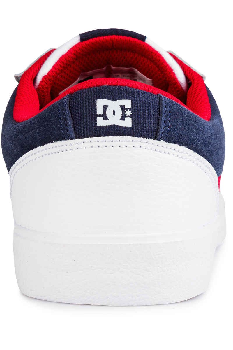 DC Lynnfield Shoes (white dc navy true red)