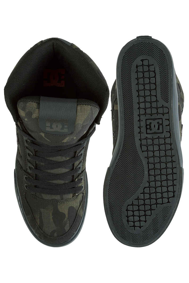 DC Pure High Top WC Shoes (camo)