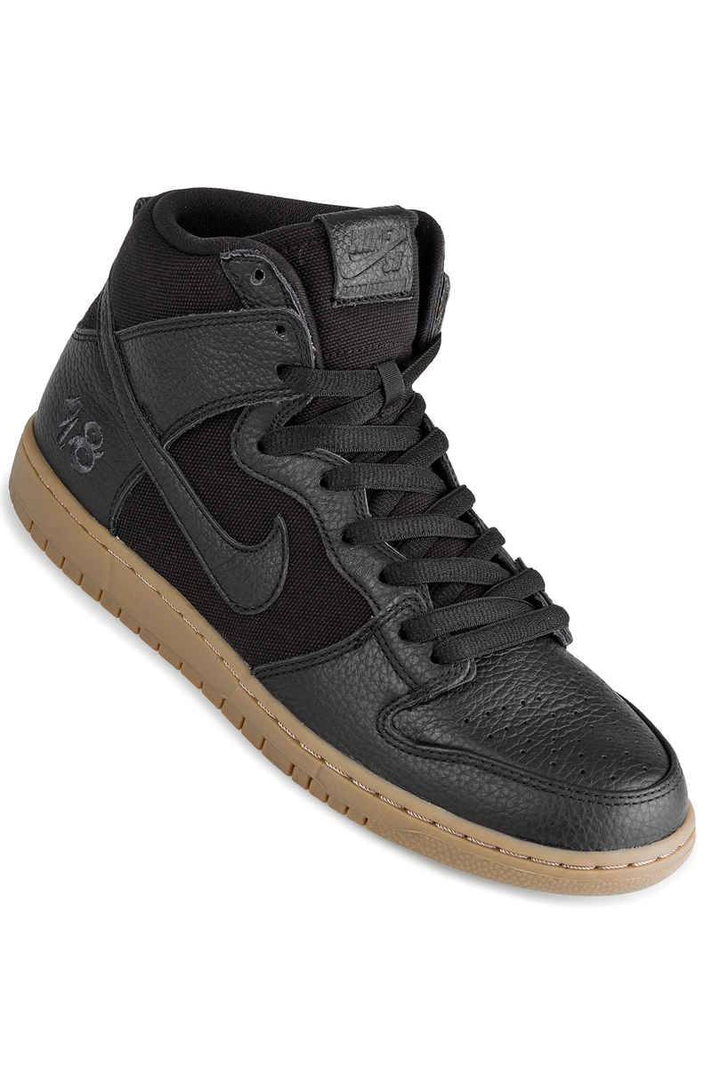 fa83ff70c6 ... discount code for nike sb x anti hero zoom dunk high brian anderson qs  shoes black