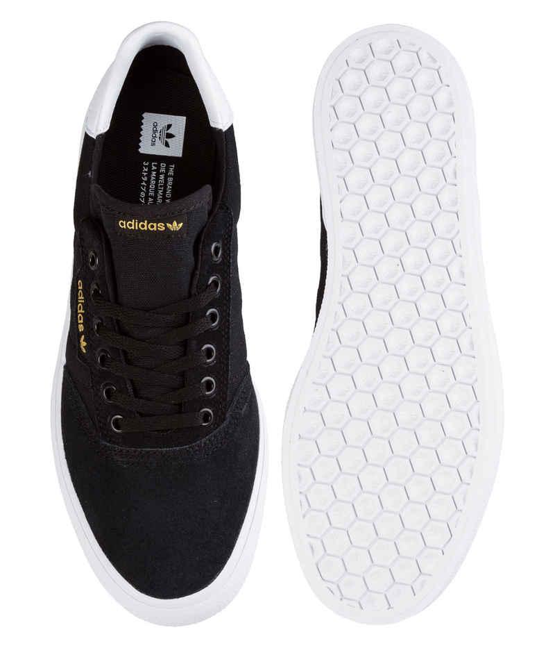 adidas Skateboarding 3MC Suede Schoen (core black white)