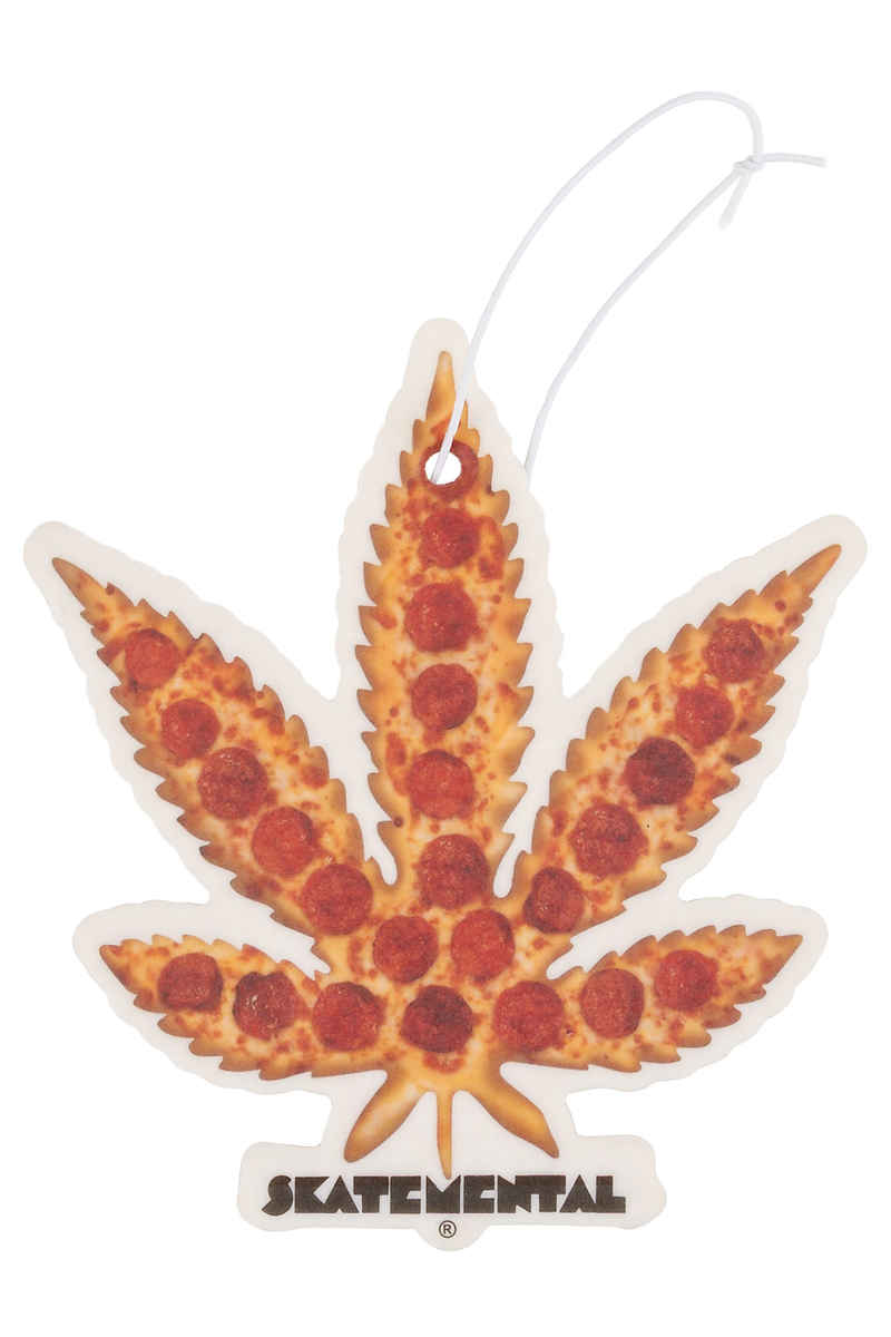 Skate Mental Pizza Leaf Air Freshener Acc.