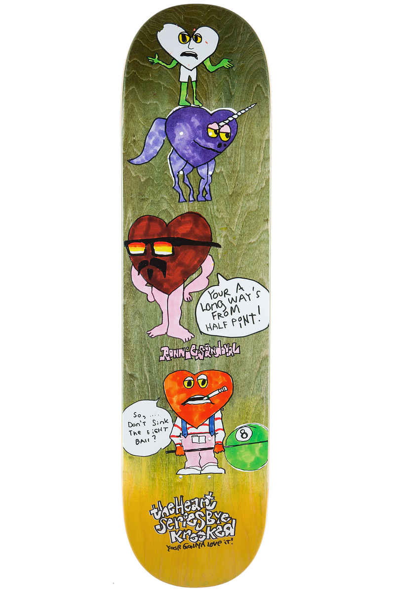 """Krooked Sandoval The Heart 8.5"""" Planche Skate"""