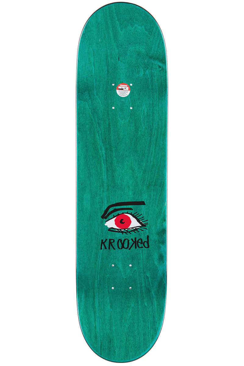 "Krooked Walker Eye For An Eye 8.38"" Planche Skate"