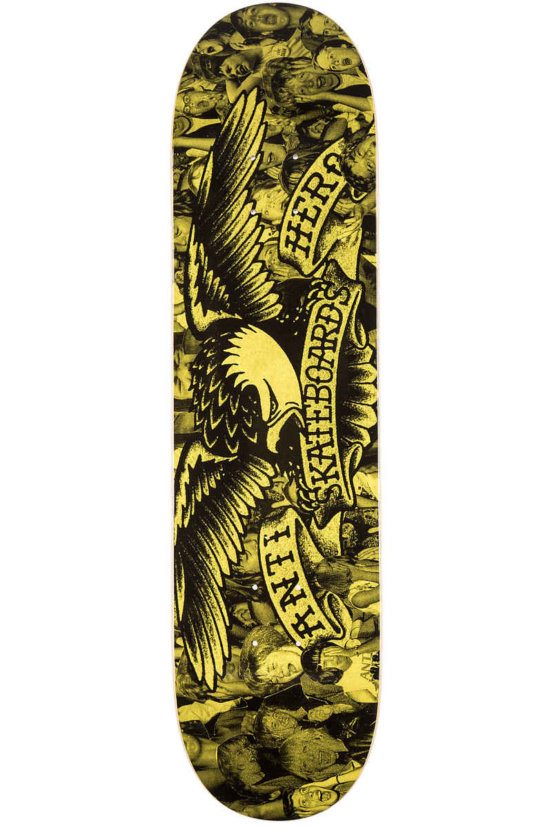 "Anti Hero Team Fan Club 8.06"" Deck (yellow black)"