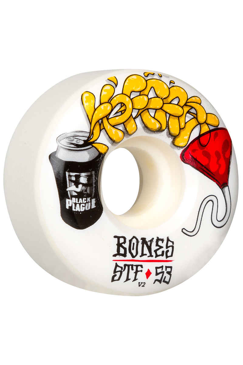 Bones STF Hoffart Beer Bong V2 Wheels (white) 53mm 103A 4 Pack