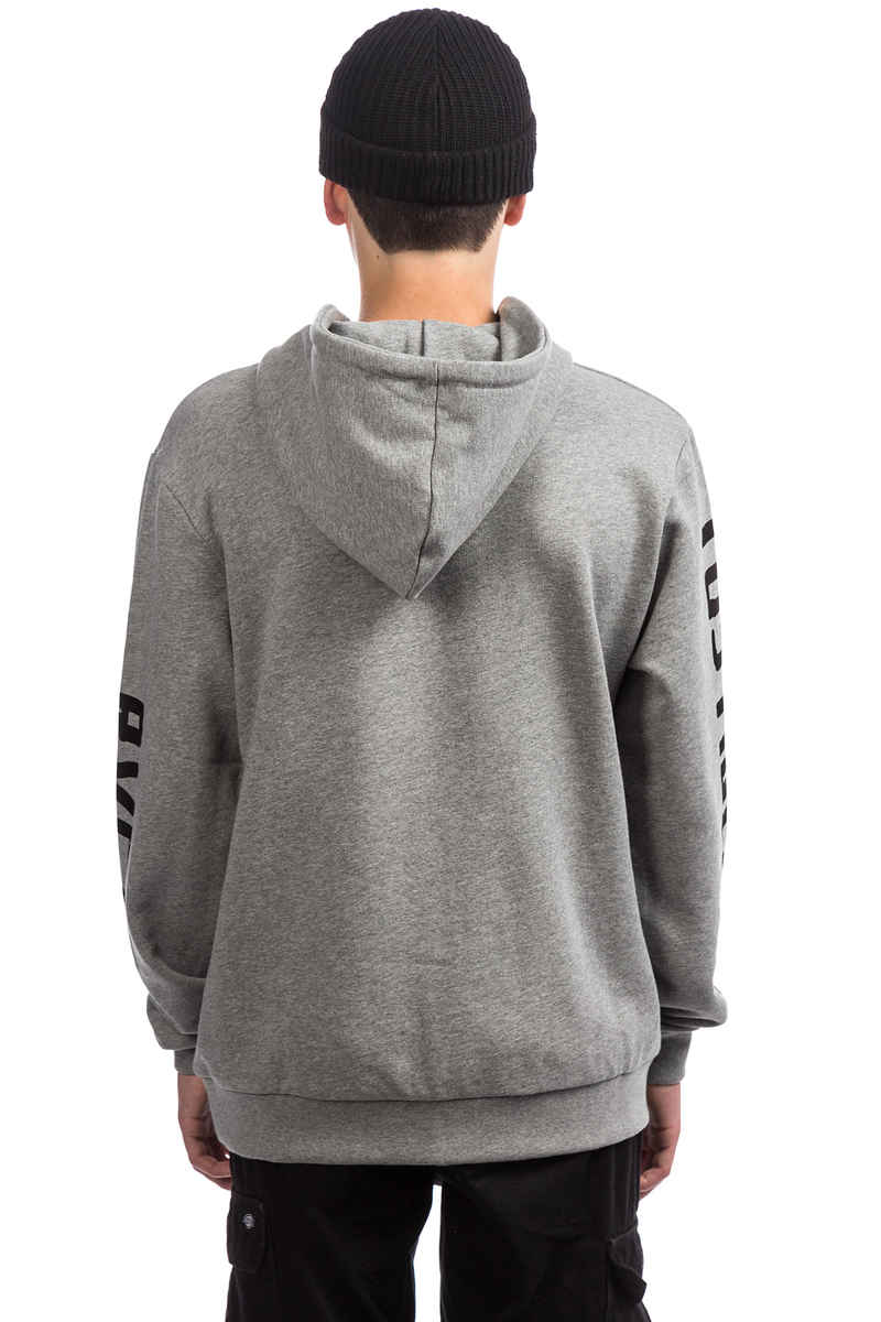 RVCA x Toy Machine TM Hoodie (athletic heather)