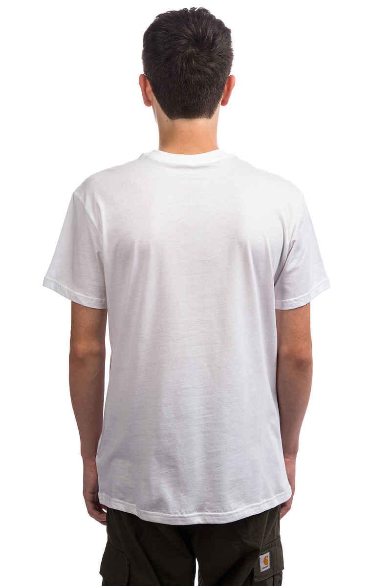 RVCA x Toy Machine Standard T-Shirt (white)