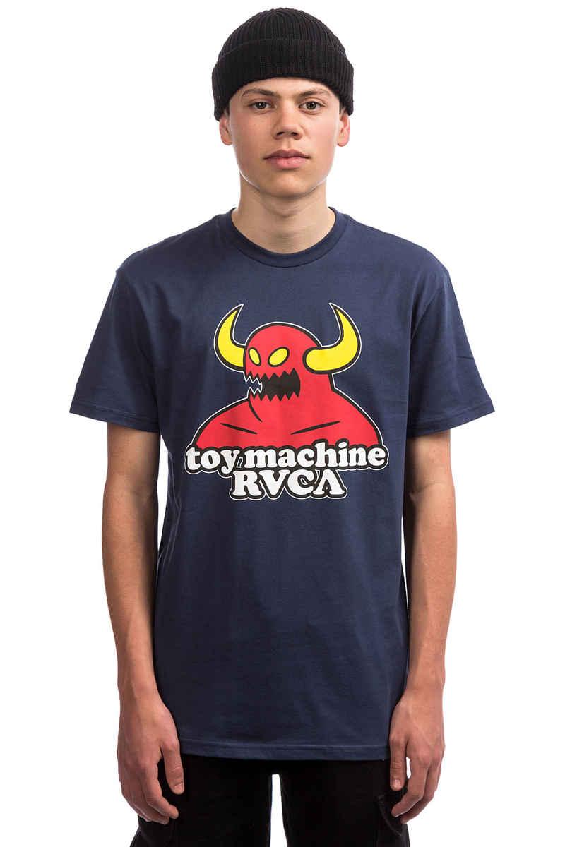 RVCA x Toy Machine Standard T-Shirt (seattle blue)