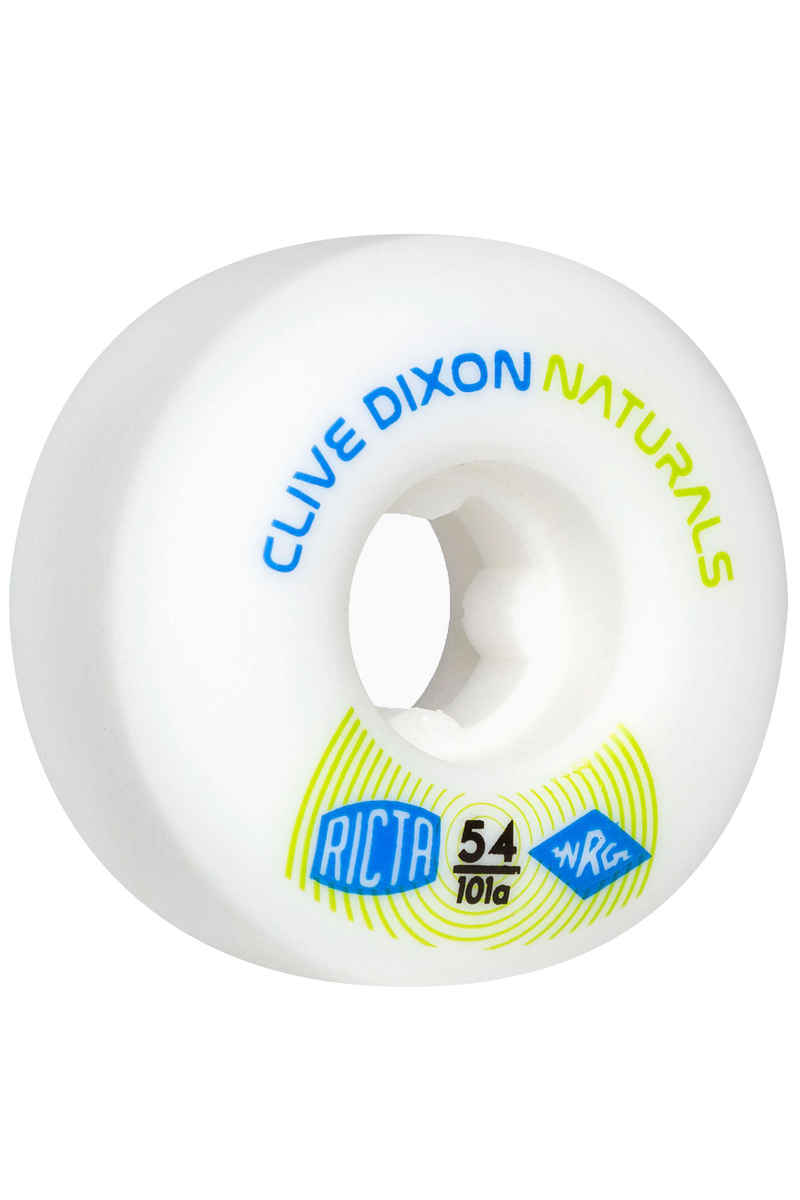 Ricta Dixon Naturals Roue (white) 54mm 101A 4 Pack