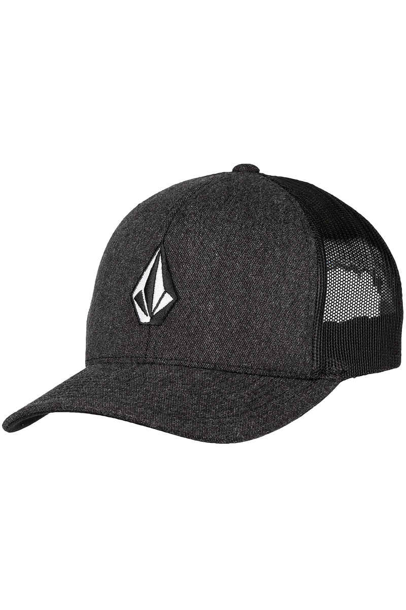 Volcom Full Stone Cheese Snapback Cap (charcoal heather)