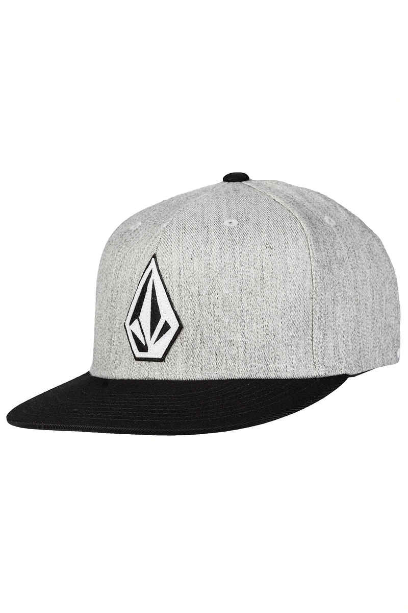 3947a2946e6 Volcom Stone Stack JFit FlexFit Cap (heather grey) buy at skatedeluxe