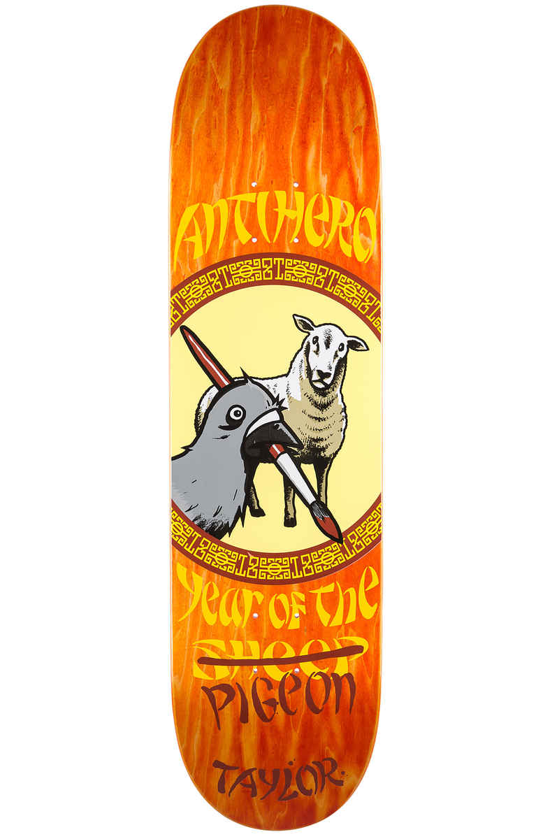 """Anti Hero Taylor Year Of The Pigeon 8.5"""" Deck"""