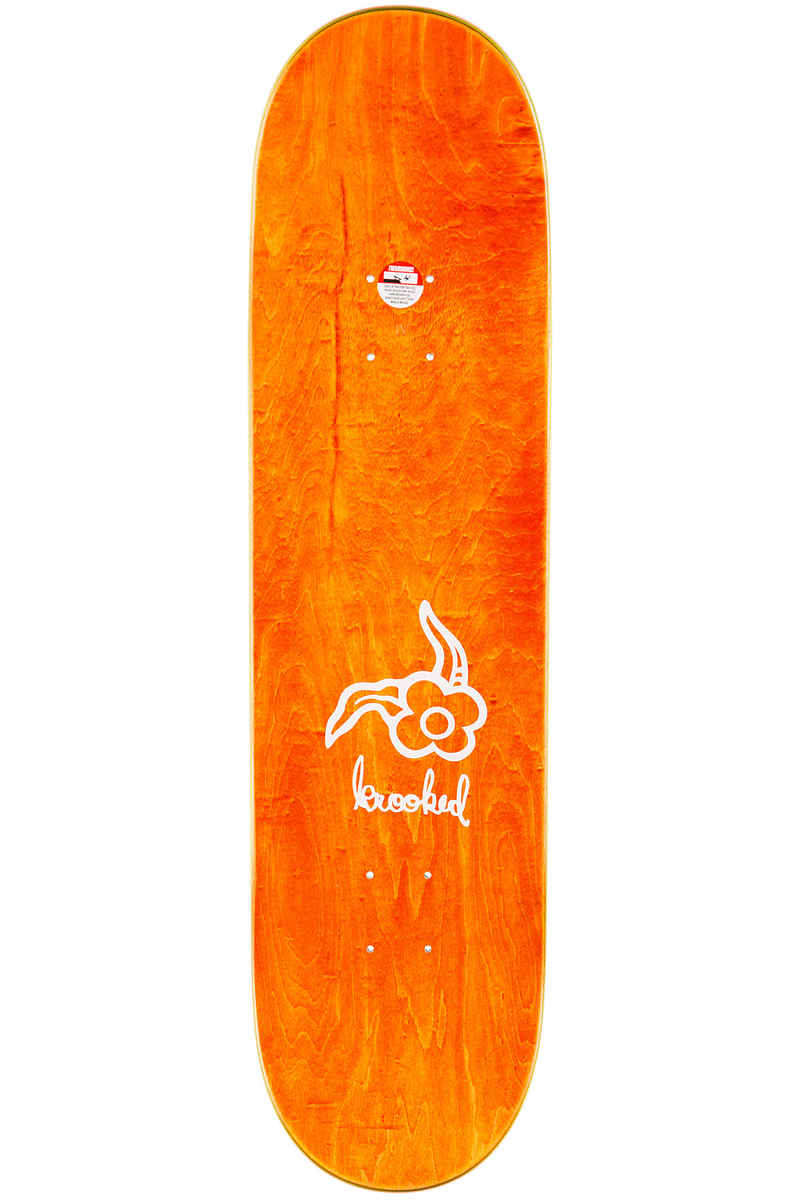 "Krooked x adidas Gonzales Three Strypes Emb 8.25"" Planche Skate (white)"