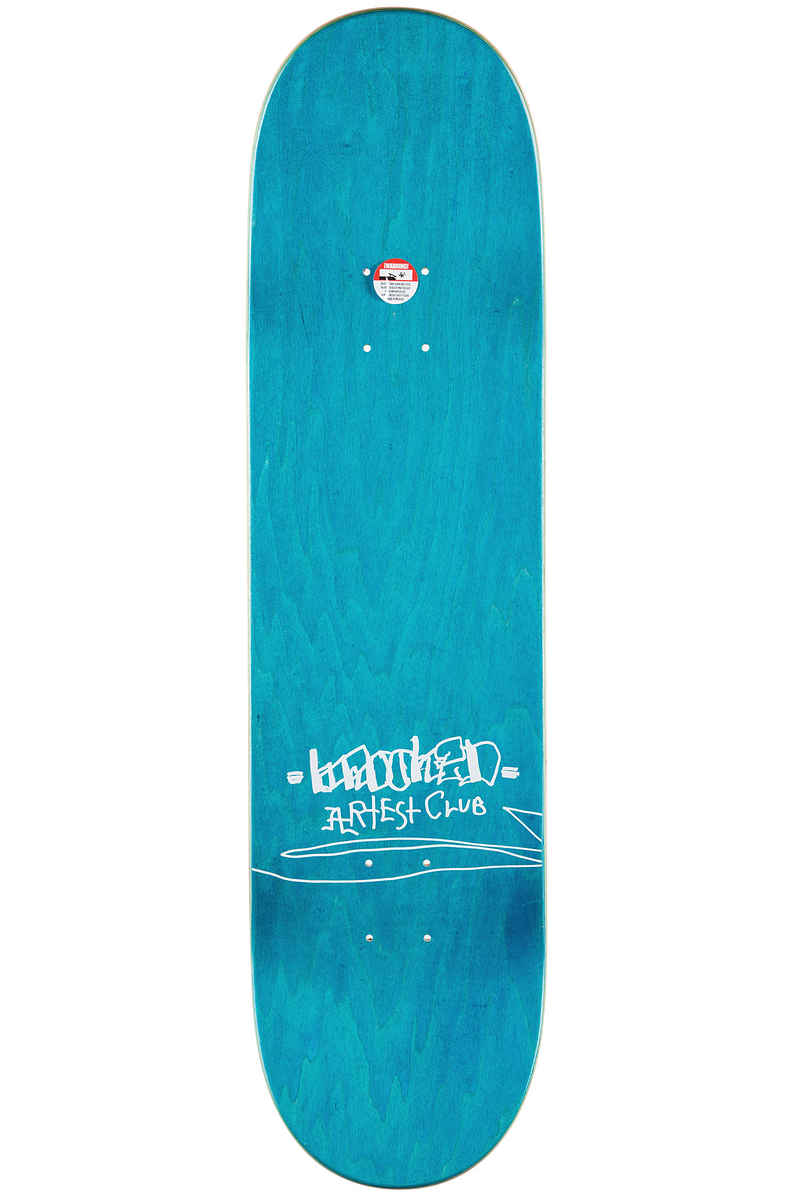 "Krooked Gonzales Shapes 8.25"" Deck (yellow)"