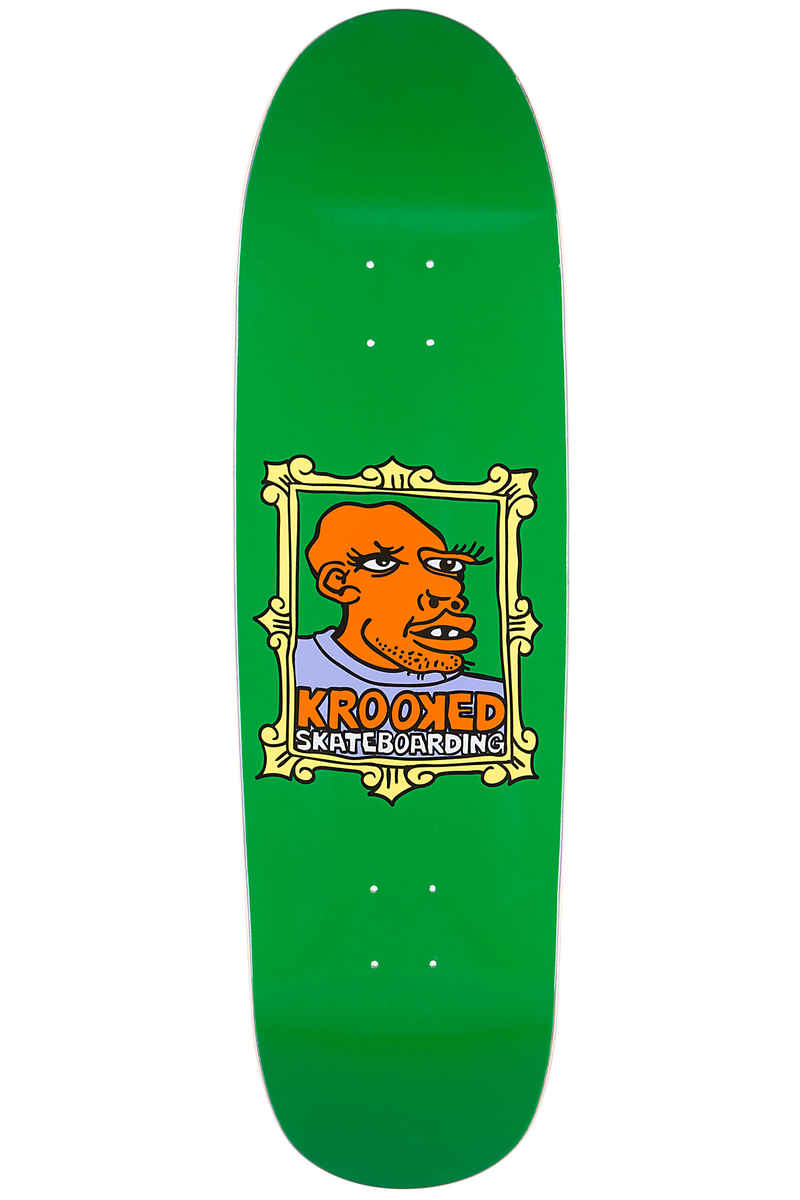 "Krooked Team Frame Face 9.3"" Deck (green)"