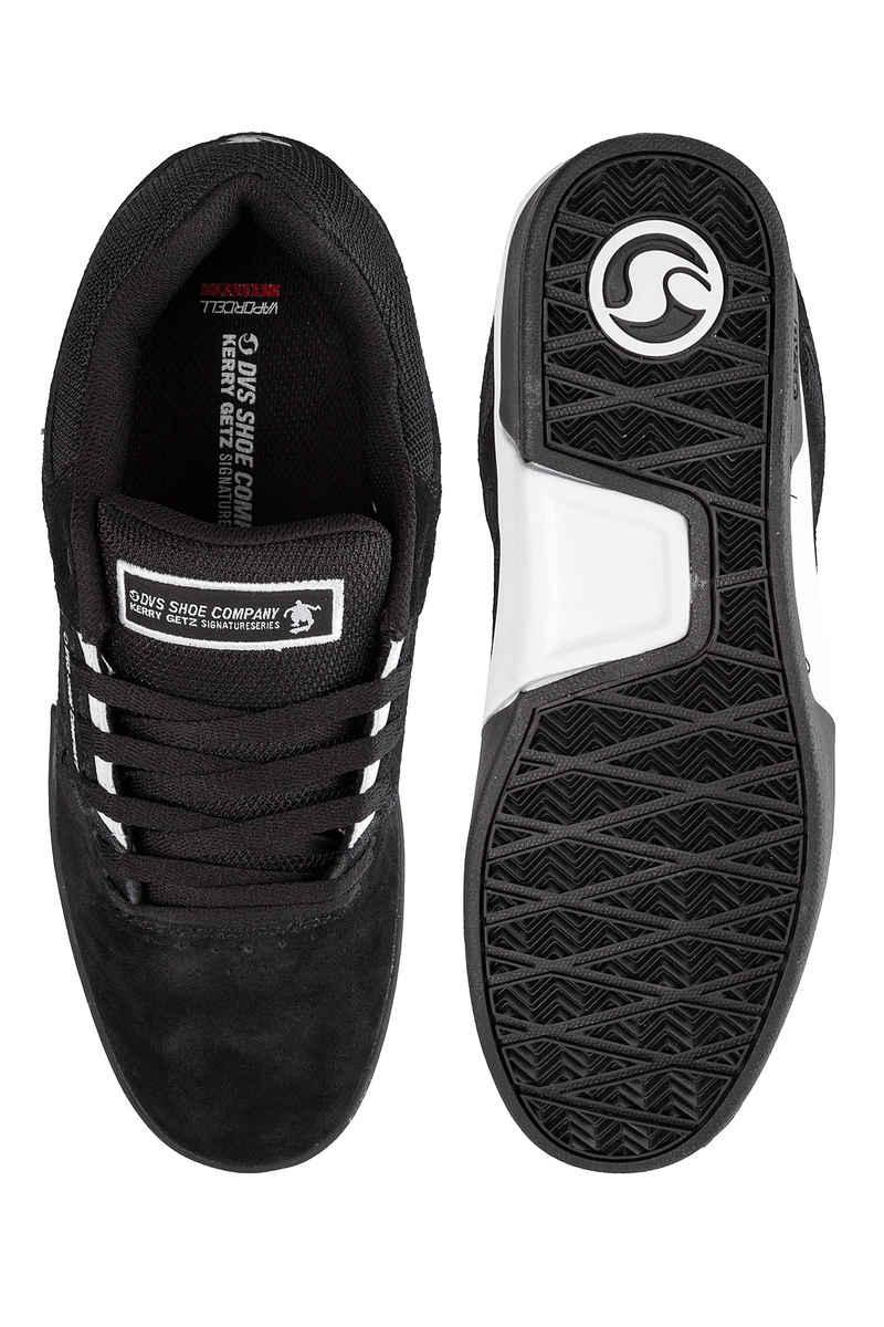 DVS Drift+ Suede Shoes (black white black)