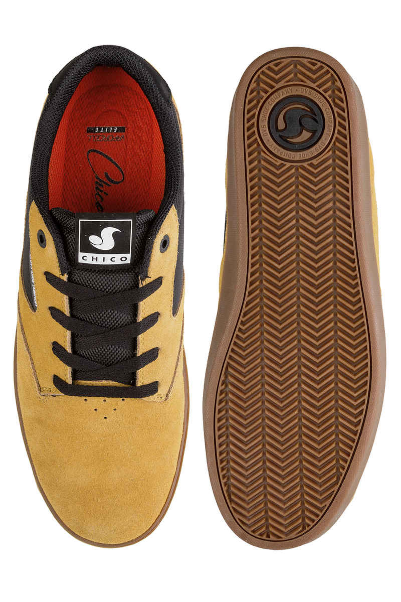 DVS Pressure SC+ Suede Shoes (chamois black chico)