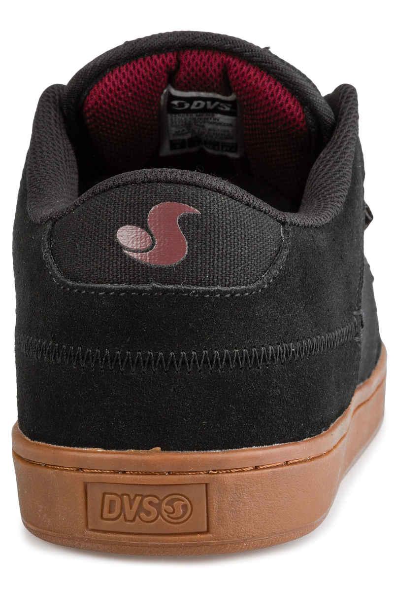 DVS Quentin Suede Shoes (black gum port)