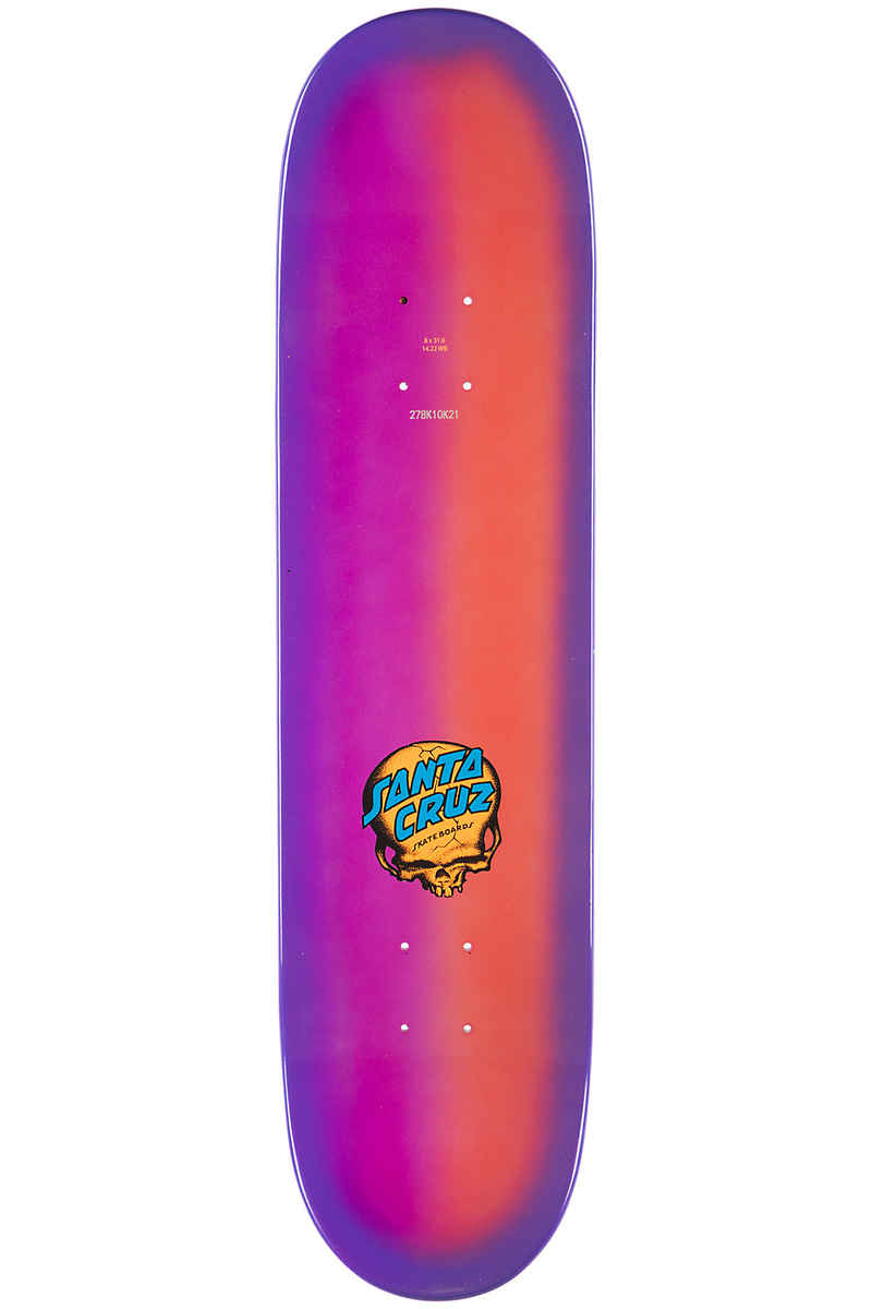 "Santa Cruz O'Brien Reaper 8"" Planche Skate (candy fade)"