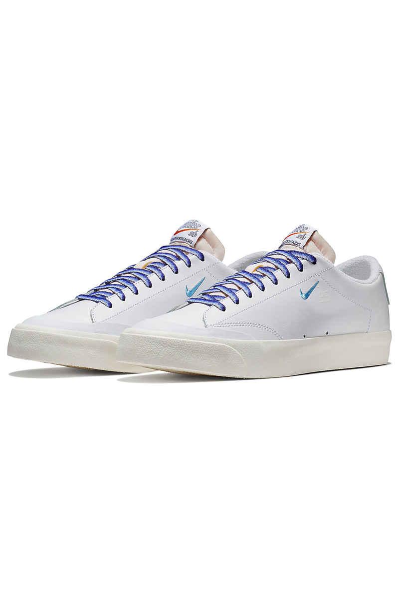Nike SB x Quartersnacks Zoom Blazer Low XT QS Shoes (white university blue)