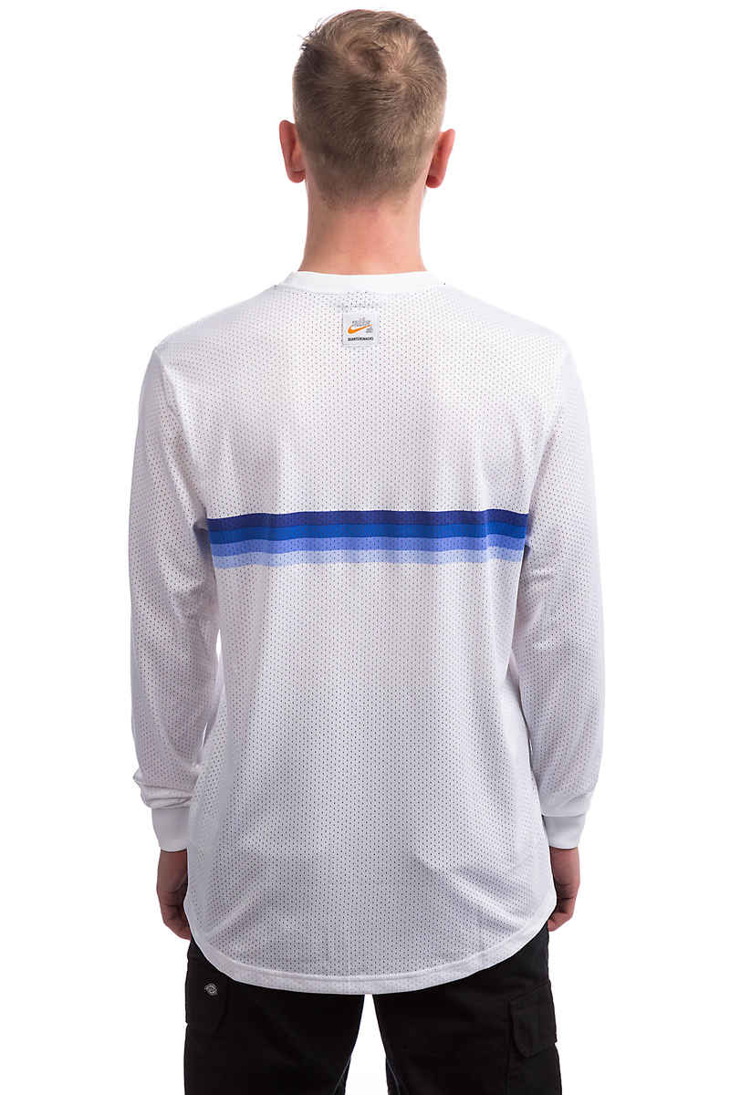 Nike SB x Quartersnacks Dry Longsleeve (white royal pulse)