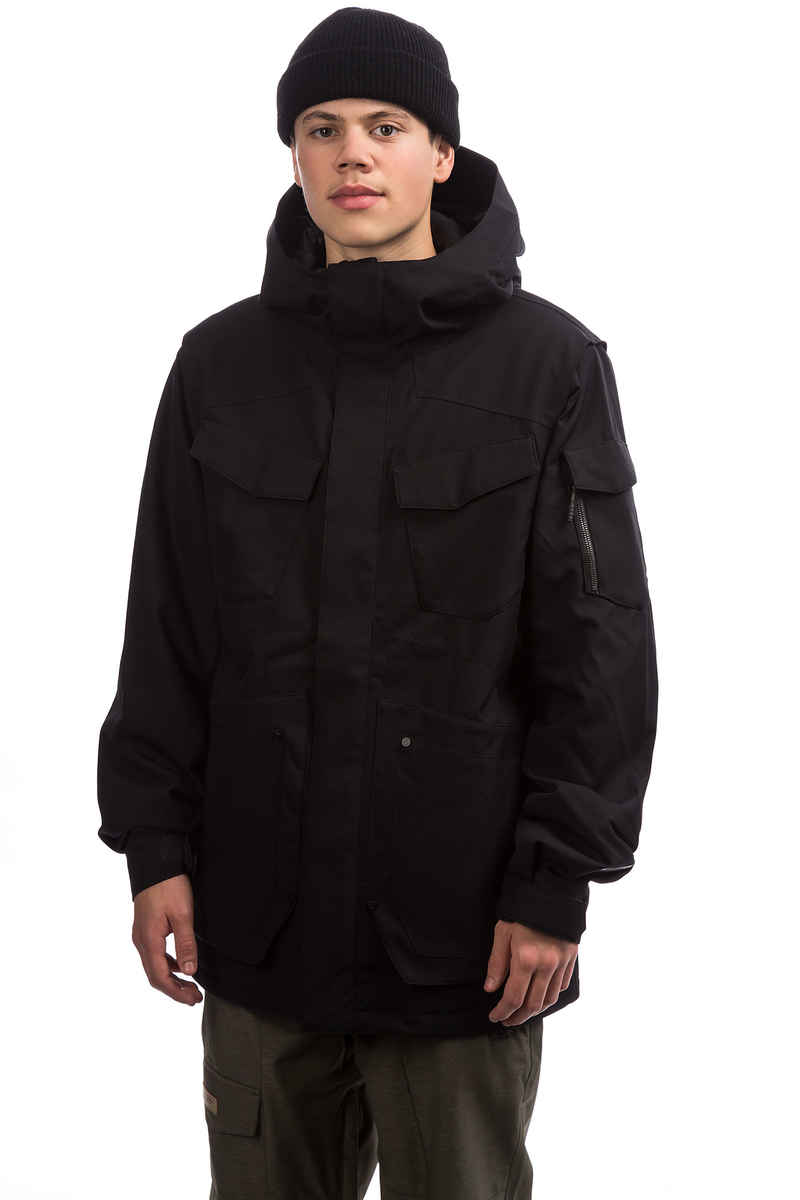 Volcom VCO Inferno Insulated Snowboard Jacket (black)