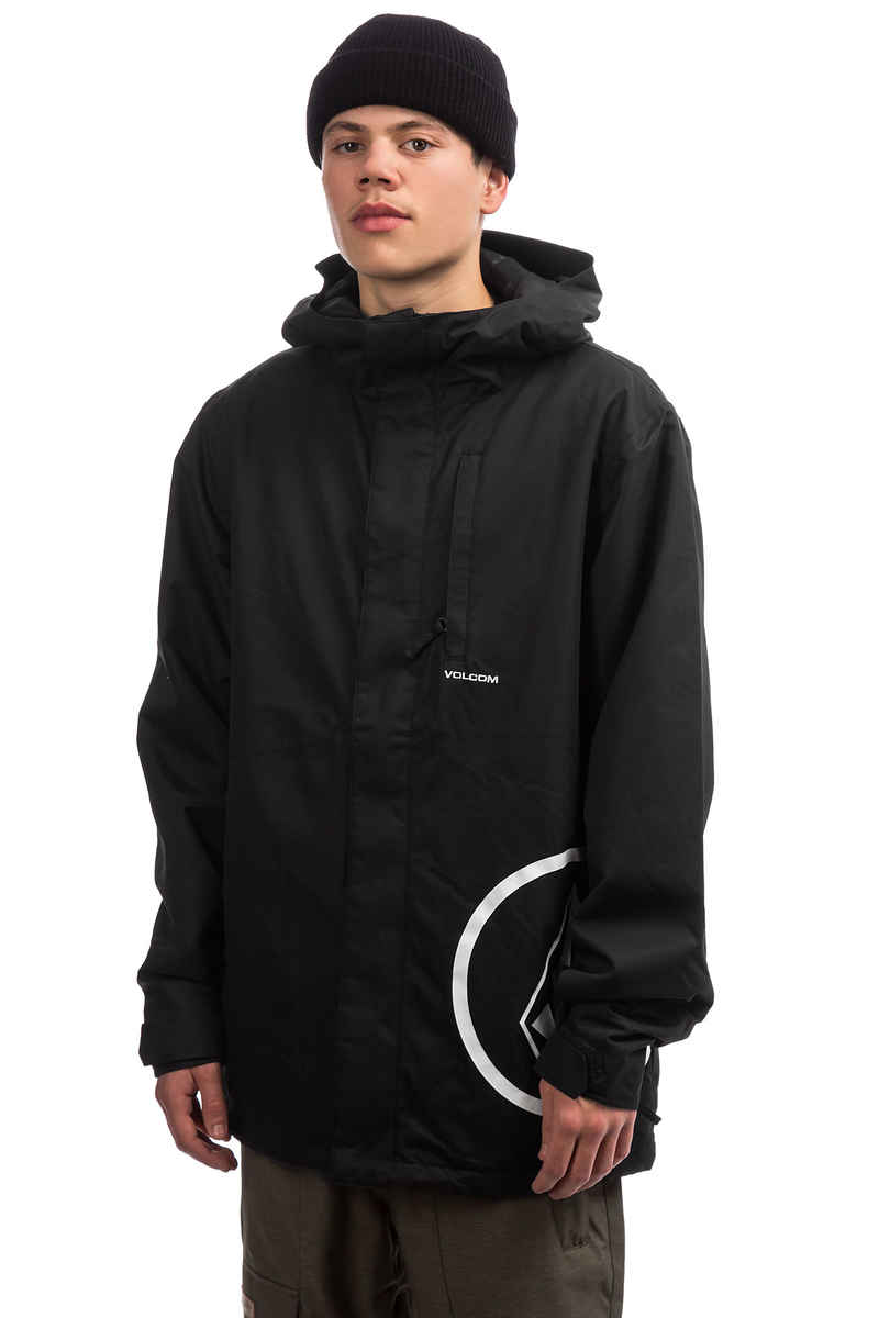 Volcom 17 Forty Insulated Snowboard Jacket (black)