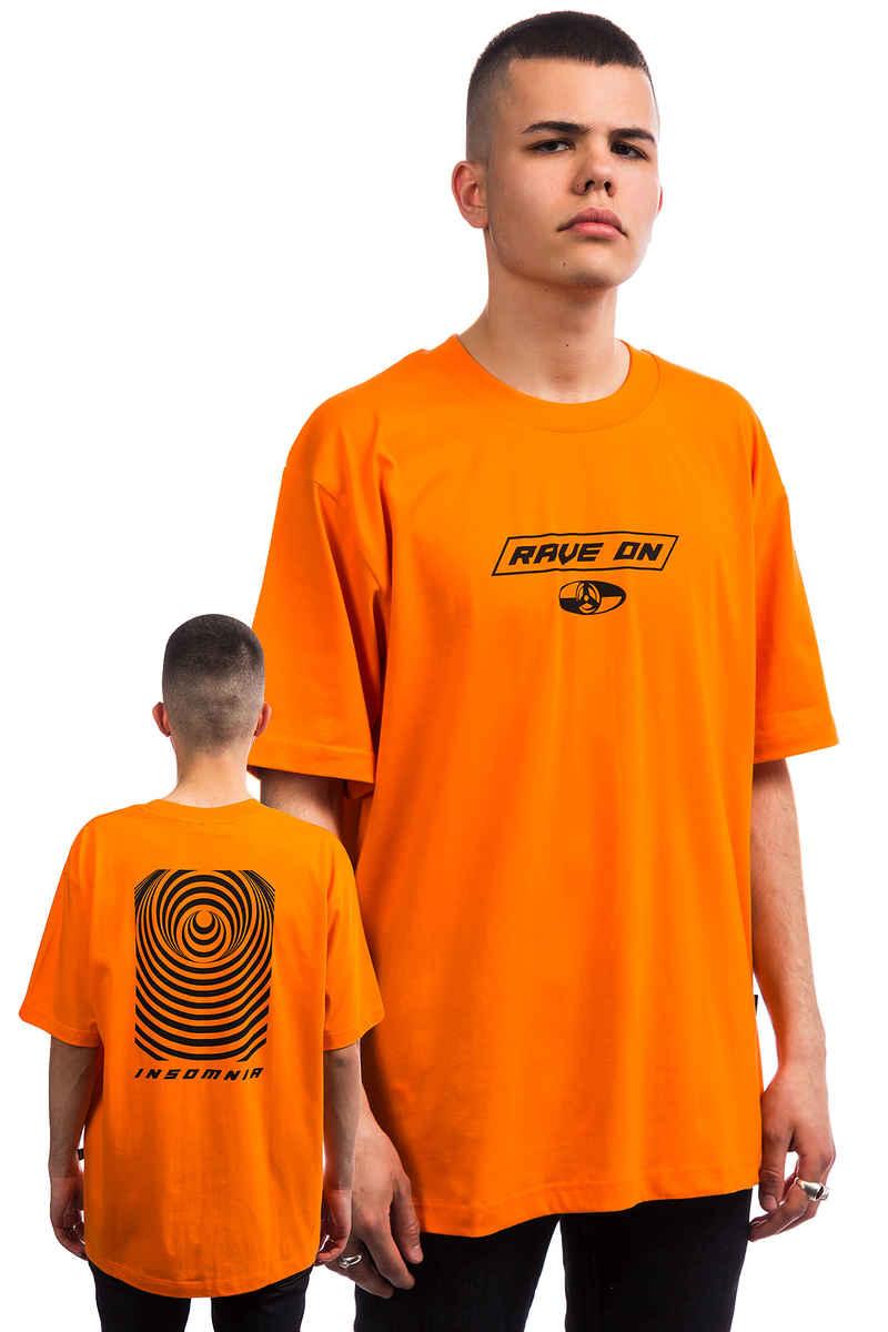 Wasted Paris Rave On T-Shirt (orange ring)