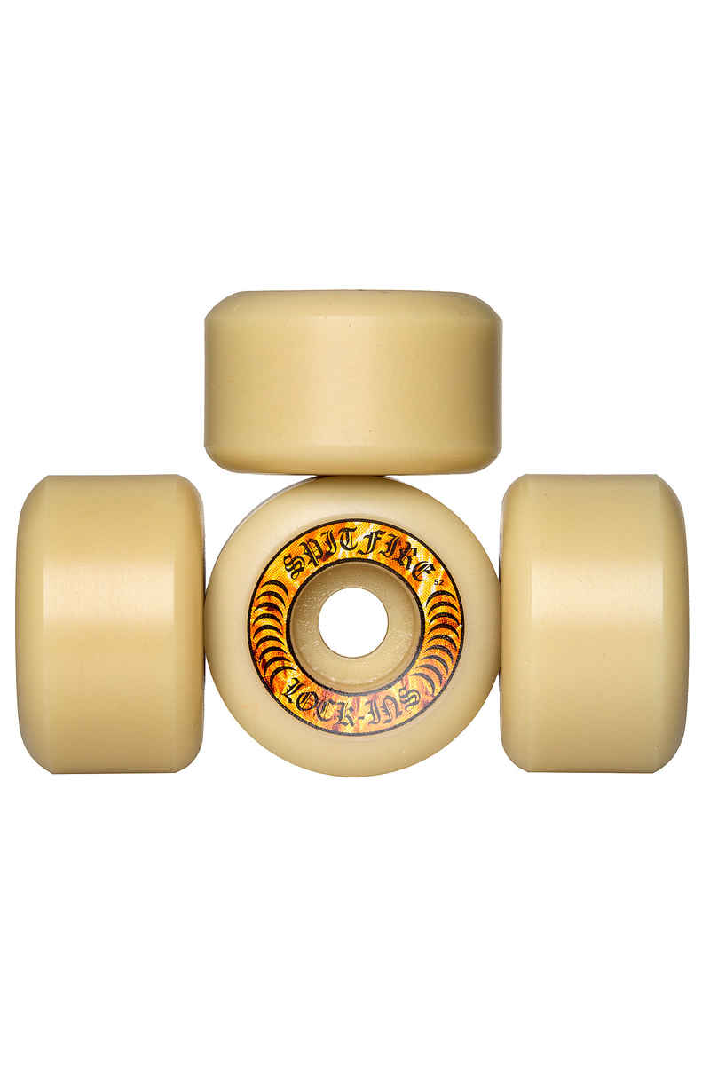 Spitfire Formula Four Hellfire Lock Ins Roue (white) 52mm 99A 4 Pack