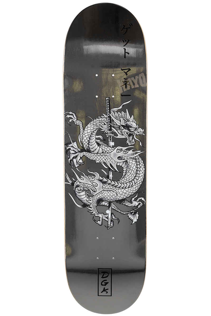 "DGK Skateboards Get Money 8.38"" Deck (silver)"