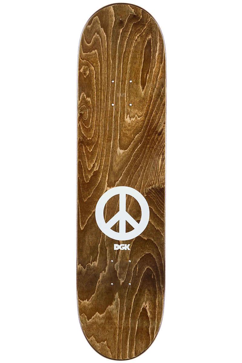 "DGK Skateboards Boo Peace 8.25"" Deck (black)"